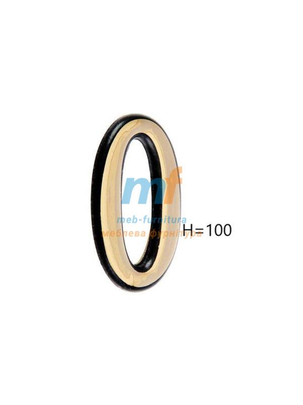 Номерки пластиковые H100мм №0 (золото)