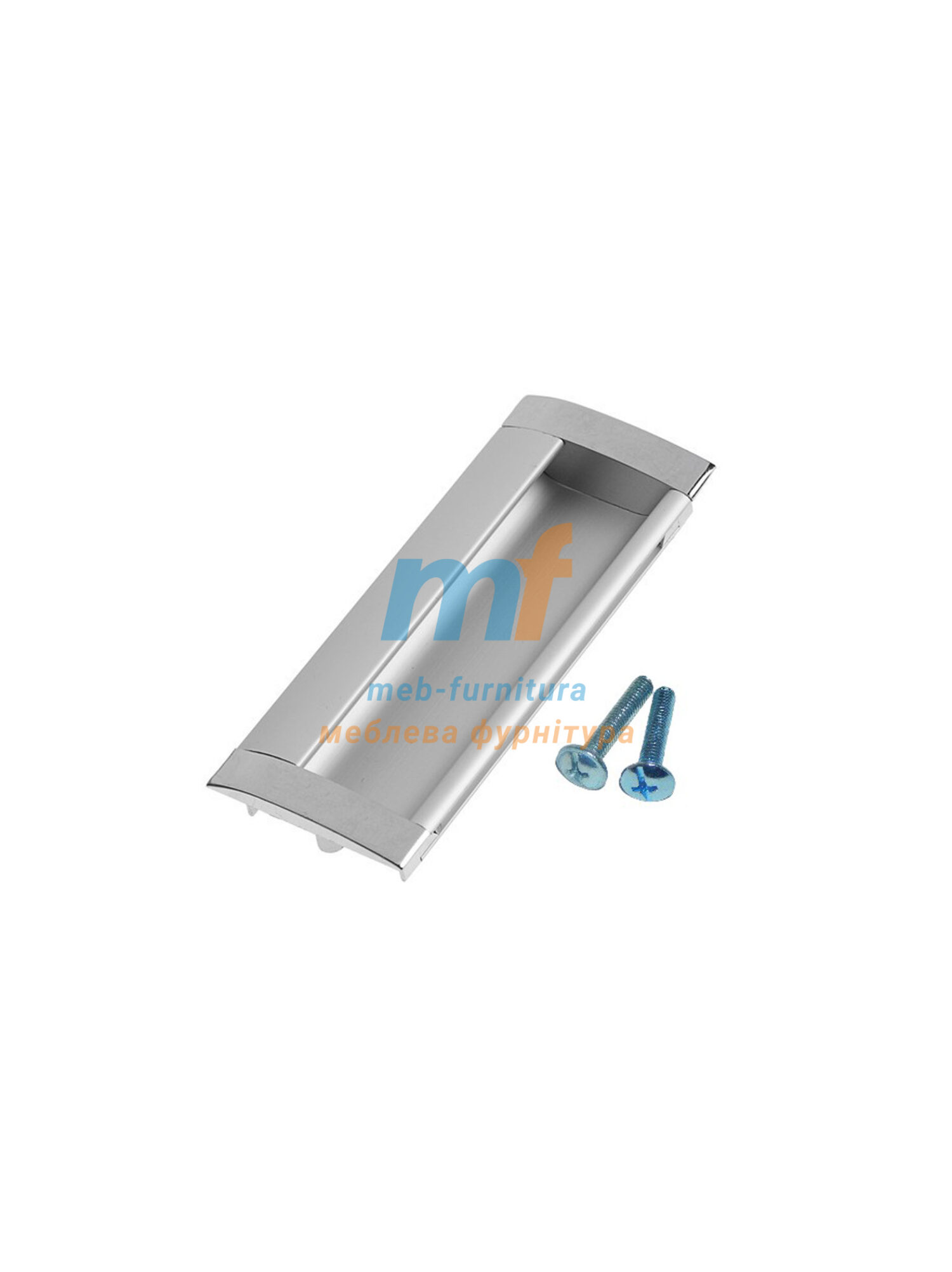 Ручка мебельная врезная 6428 - 96mm
