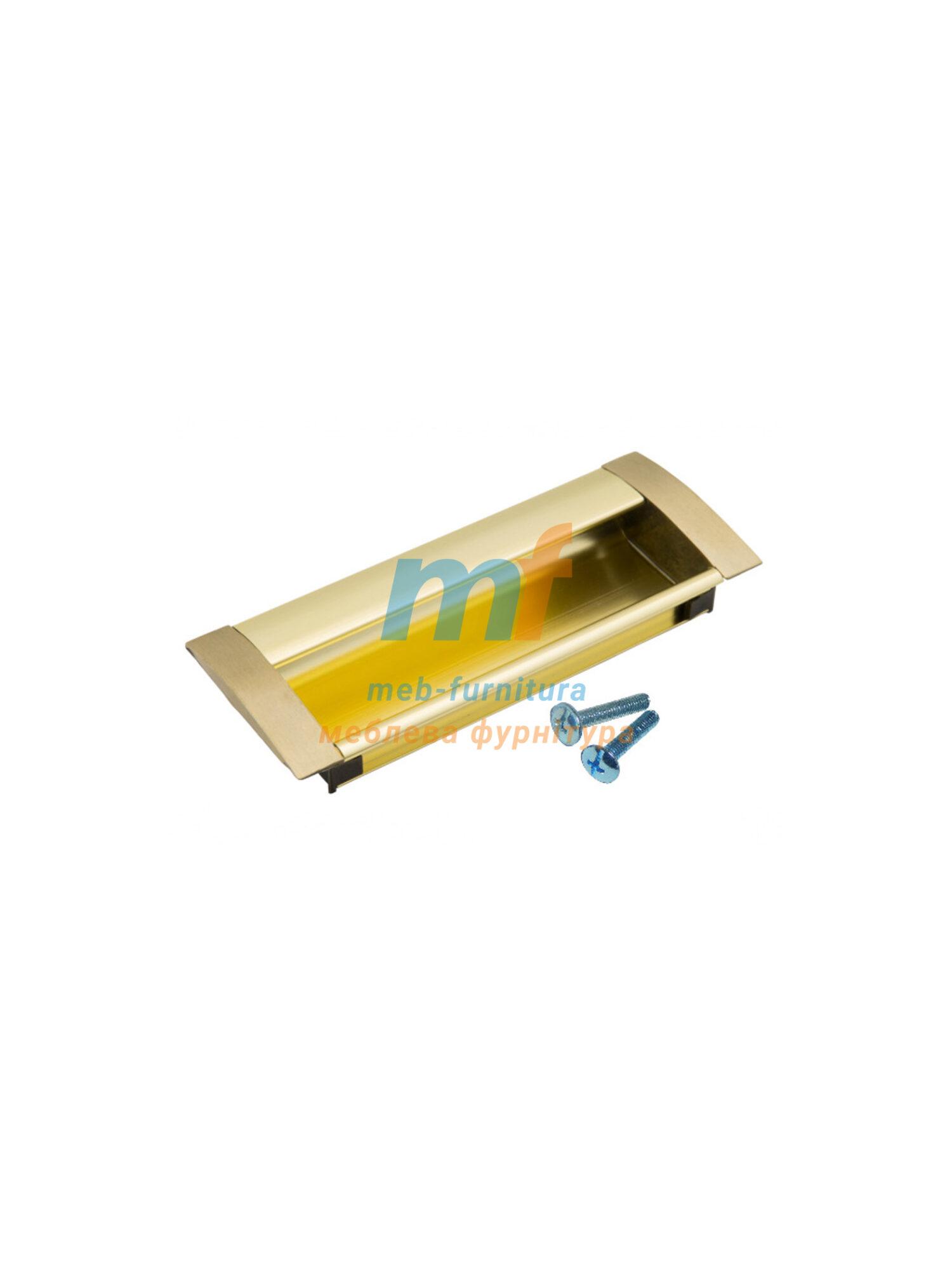 Ручка мебельная врезная 6429 - 128mm