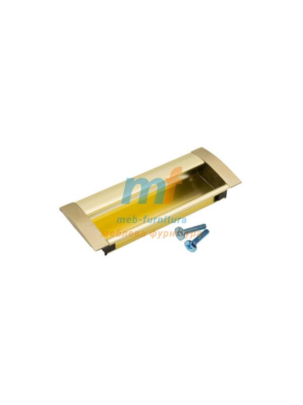 Ручка мебельная врезная 6429 - 96mm